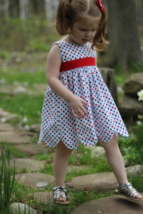 Candi Carr Little Girl Dress